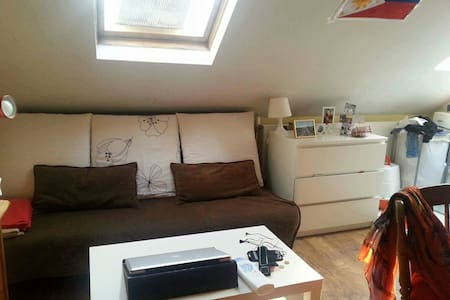 Cozy miniduplex btween universities - Ixelles
