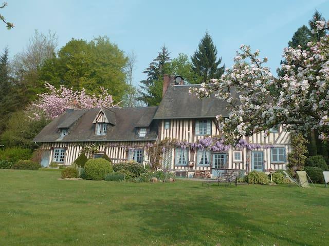 Manifique Manoir, près de Deauville et Honfleur - Pont-l'Évêque - Casa