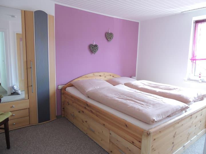 Pension Neuenrade, (Neuenrade), 5_Doppelzimmer Nr. 5, mit Dusche und WC