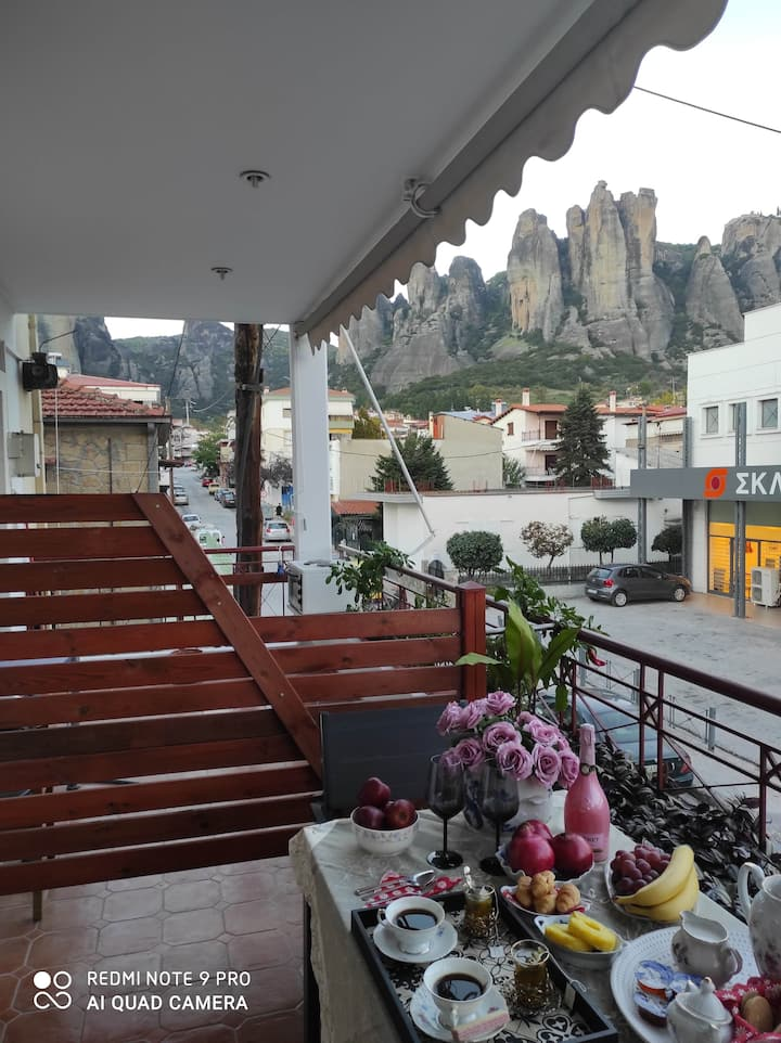 Central apartment - Meteora view