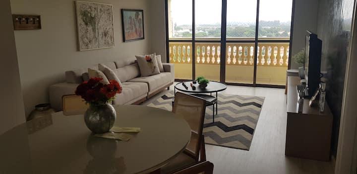 Apartamento novíssimo, no centro de Avaré. Lindo!