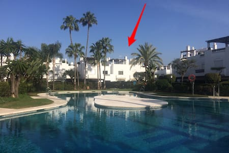 Duplex two steps from the beach in Marbella