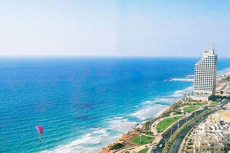 Beautiful Apartment with Sea View - Netanya - Appartement
