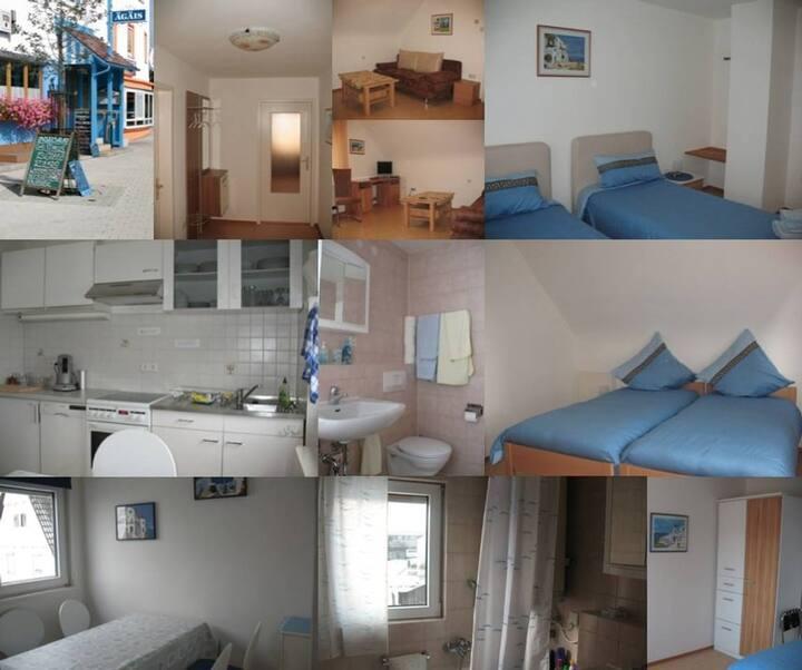 Ferienwohnung & Zimmer Baxivanelis für 1 Person