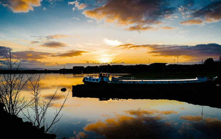 The Catherina Dutch Sailing Barge