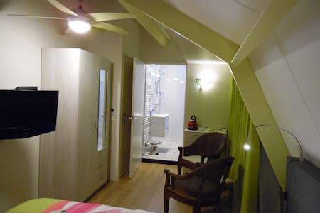 Cozy kamer met eigen badkamer, tv en Wi-Fi. - Elst