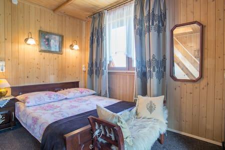 Room with BALCONY&MEZZANINE&JACUZZI - Murzasichle