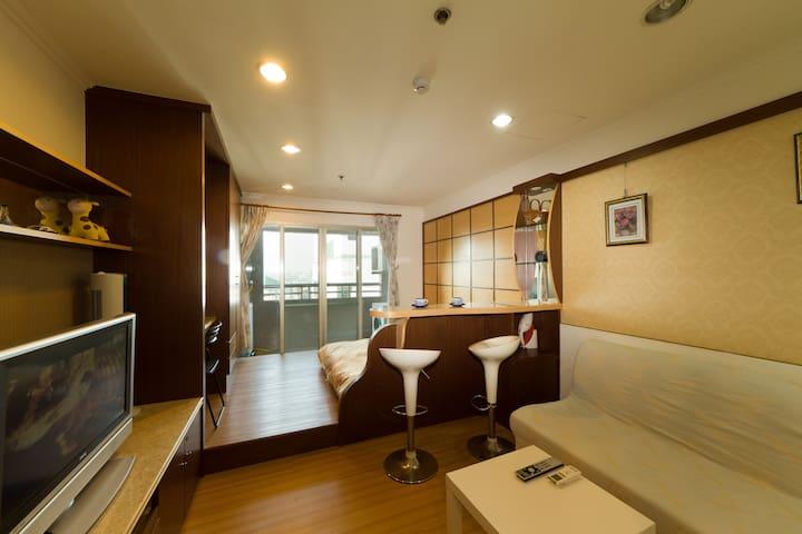溫馨舒適的雙人房 - Qianzhen District - Apartment