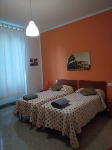 B&B L'AMACA - Twin beds room with breakfast
