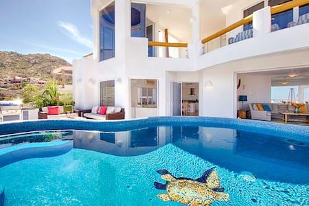 Luxury Villa Mykonos in Pedregal Cabo - Cabo San Lucas