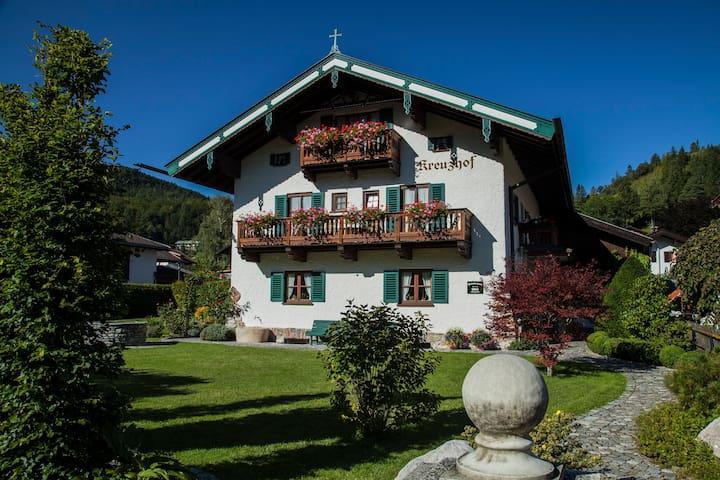 Ferienwohnung Karwendel, Bergkulisse pur - Mittenwald - Apartment