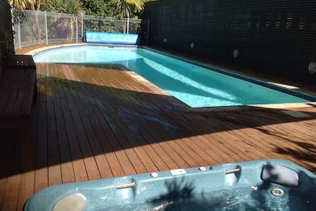 Economy luxury arpt,pool,spas,sauna - Kaiteriteri - Pis