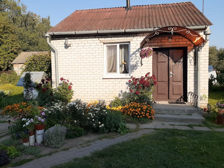 Белорусский домик в пригороде Бреста