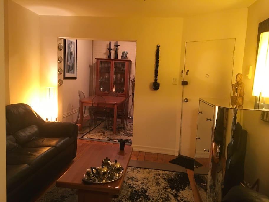 From Living Room toward Dining Room