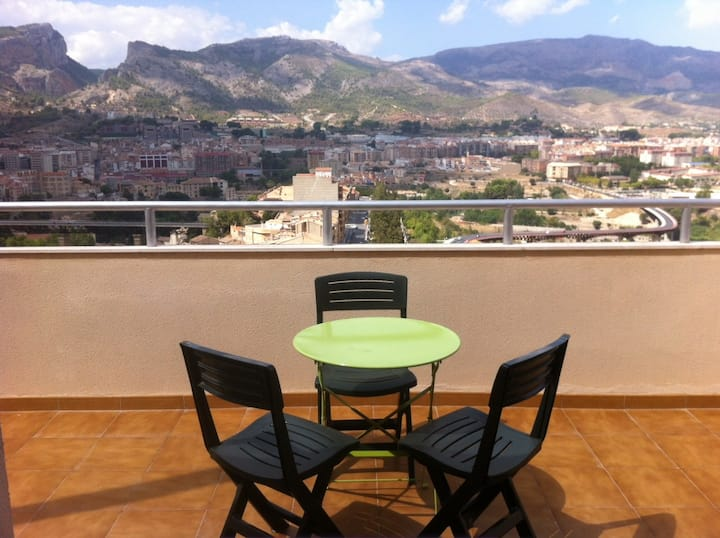 Suite Ra Apartment (2-4 Pax) With Terrace And Views Of The Natural Area And City