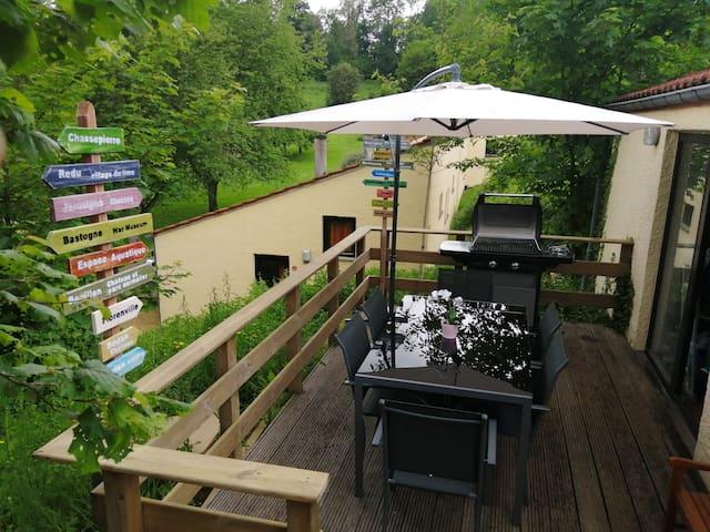 Le Jardin d'Eugénie bungalow de charme 100 %rénové