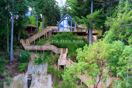 Eldon House, Waterfront on Hood Canal