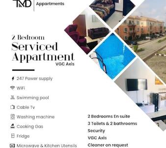 Attractive 2 bedroom apartment in VGC