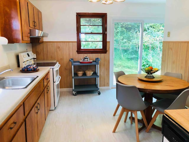 Eat-in Kitchen with plenty of natural sunlight