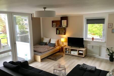 gemütliches Einraum-Apartment - 沃爾夫斯堡 - 公寓