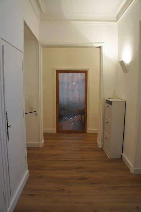 Couloir vers chambre