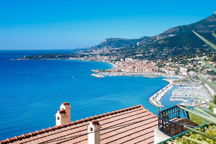 Amazing sea views over the Riviera! - Ventimiglia