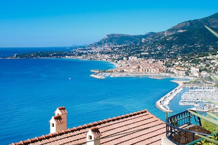 Fabulous sea views over the Riviera - Ventimiglia
