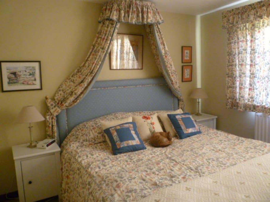 Double en suite bedroom downstairs