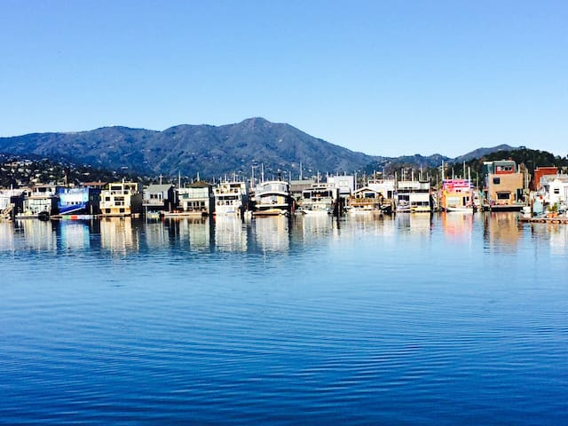 Beautiful 2 bedroom houseboat - Sausalito - Hus