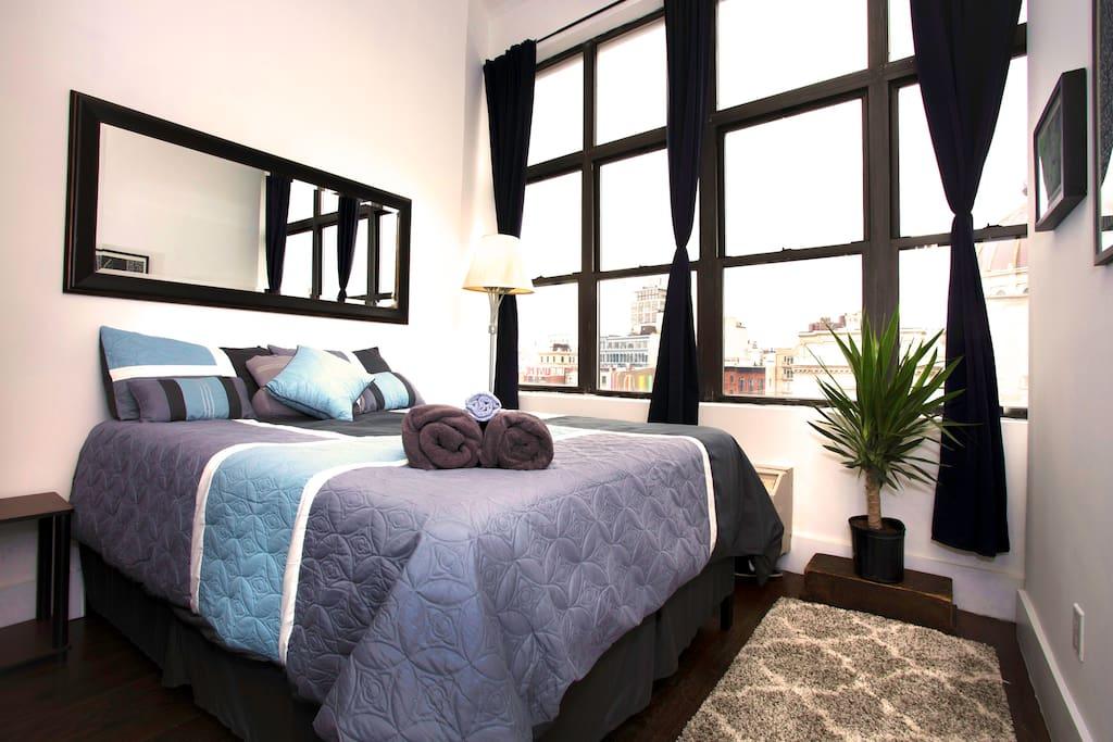 Bedroom 2- New Comfy Queen