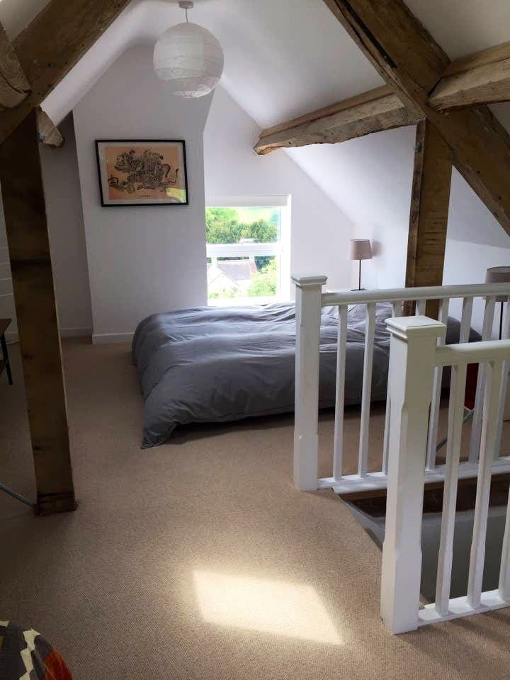 Kingside bed with great views