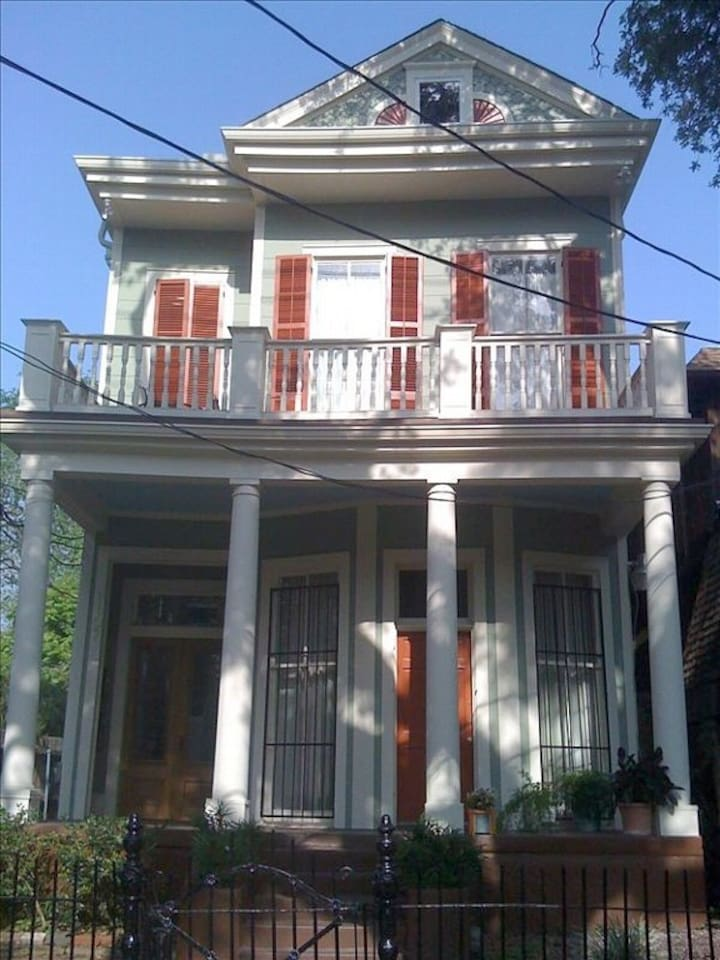 Majestic home right on the Avenue which was built originally for a senator.  Location!  Location!  Location!