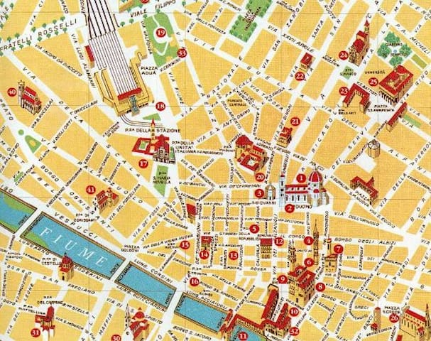 La mia guida: suggerimenti per vivere Firenze