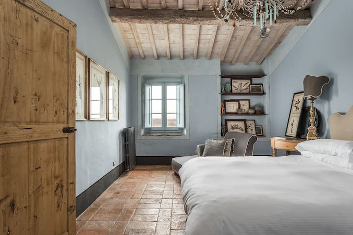 Blue Bedroom