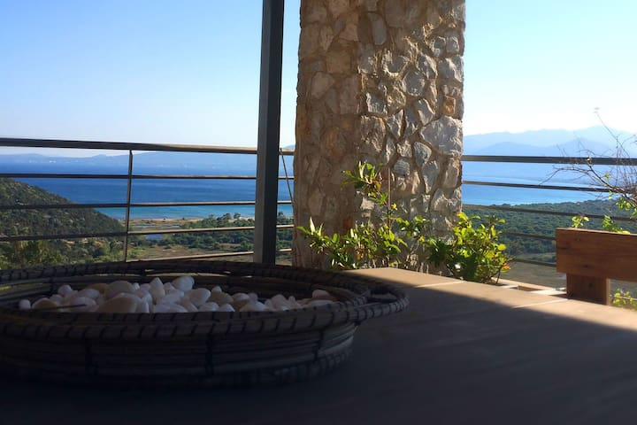 Harmony House, Schinias, Gaze at the Sea - Dikastika - Tatil evi