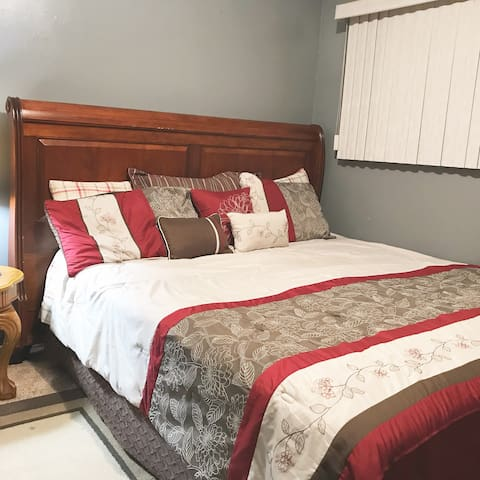 Perfect Affordable Master Bedroom in Anaheim.