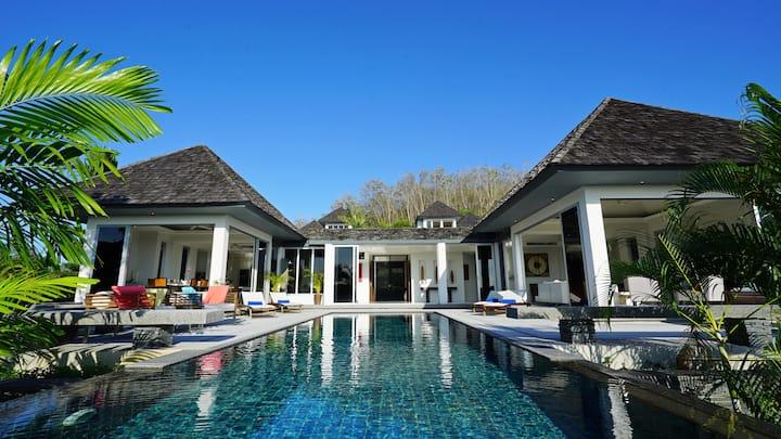 Layan SEA VIEW villas - U-shape, 2-br, 13m pool