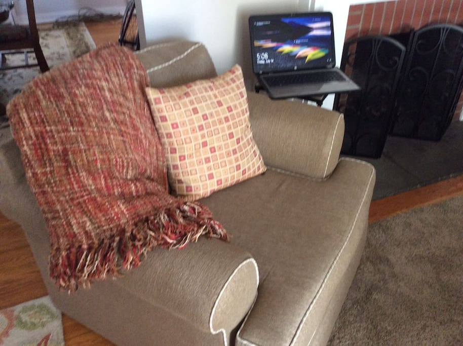 Comfy chair to relax in