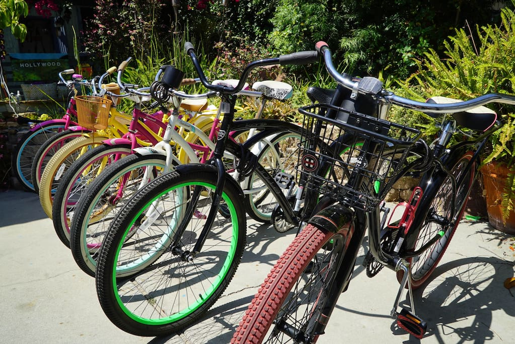 The coolest beach cruisers you will see in Venice!