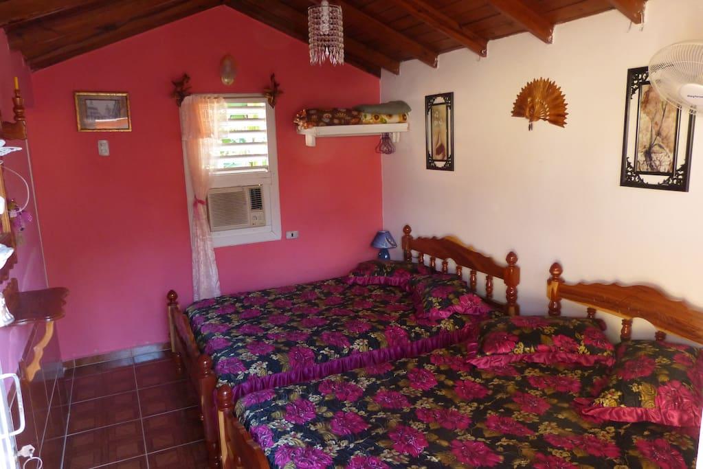 Nuestras habitaciones poseen un excelente confort y limpieza.