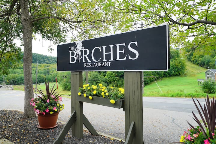 Deerhurst Resort and Hidden Valley Hotel both just minutes away have great restaurants like the Birches.