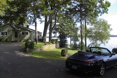 Private 1000 Island 3 Bedroom River Front Cottage - Brockville - Blockhütte