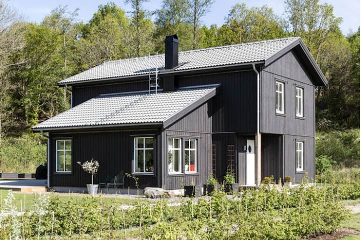 Cosy new built large house close to sea - Kungsbacka V - Maison