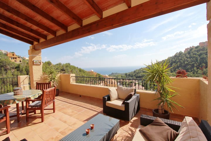 Villa lujosa con piscina privada en Altea Hills - Altea Hills