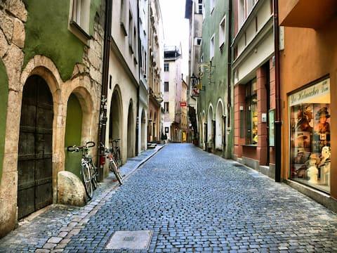 Kleines Dachgeschoss in der Altstadt