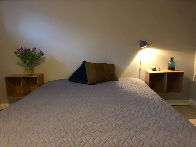 Cozy dobbelt guest room in North Sealand