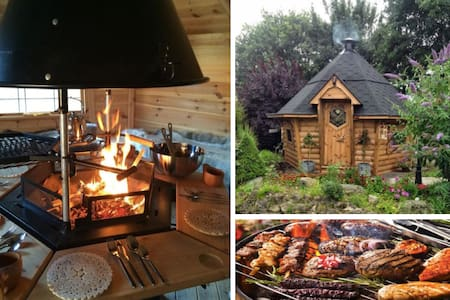 Couples dog friendly retreat with views & BBQ Hut! - Carmarthenshire - その他