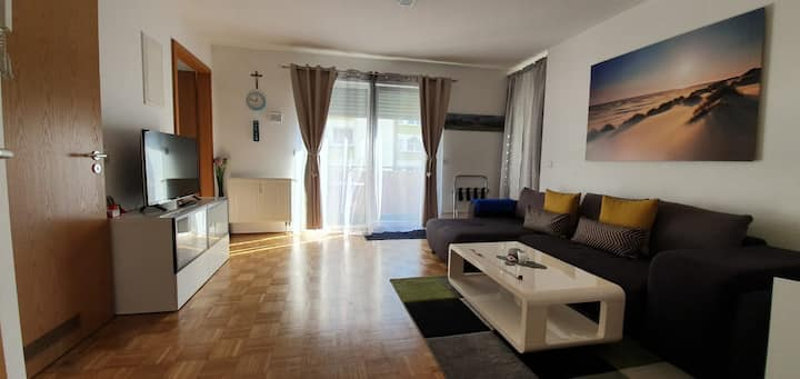 Whole private flat 40m² in Downtown, at Wasserturm