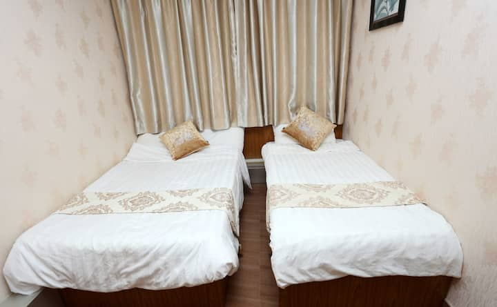 3 affordable and comfortable double bed room