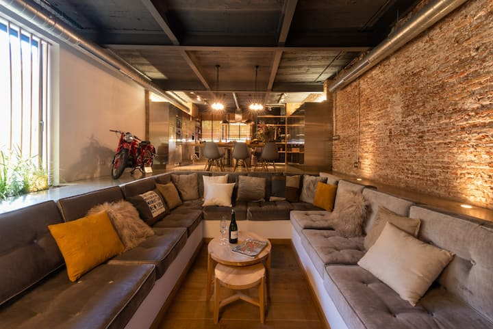Loft de diseño en el centro de Terrassa